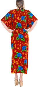 la-leela-lounge-caftan-solid-plain-plus-size-maxi-kimono-lounger-drawstring-aloha-over-size-red
