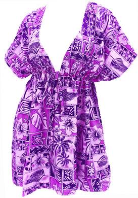 la-leela-bikni-swimwear-soft-fabric-printed-beachwear-loose-cover-up-OSFM 14-24W [L- 3X]-Violet_O231