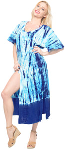 la-leela-casual-dress-beach-cover-up-rayon-tie-dye-cover-up-womens-swimsuit-skirt-blue-94-one-size