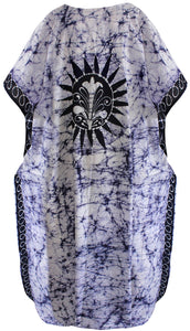 la-leela-lounge-cotton-batik-casual-caftan-tank-cover-up-navy-blue-144-plus-size