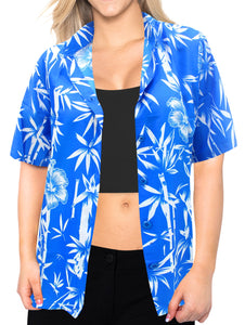 la-leela-womens-summer-beach-blouse-button-up-relaxed-camp-casual-shirt-leafy-1890