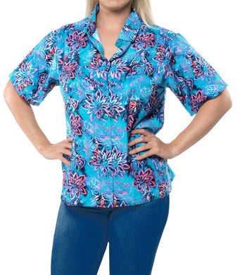 la-leela-womens-beach-casual-hawaiian-blouse-short-sleeve-button-down-shirt-multicolor-drt