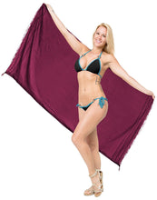 Load image into Gallery viewer, la-leela-women-beachwear-sarong-bikini-cover-up-wrap-bathing-suit-26-one-size