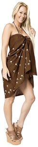 la-leela-women-bikini-cover-up-wrap-dress-swimwear-sarong-solid-6-one-size