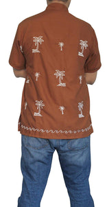 la-leela-shirt-casual-button-down-short-sleeve-beach-shirt-men-embroidered-189