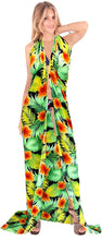 Load image into Gallery viewer, LA LEELA Women Beachwear Sarong Bikini Cover up Wrap Bathing Suit 5 ONE Size