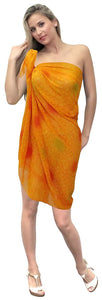 LA LEELA Women's Beach Bikini Cover up Wrap Sarong Jacquard ONE Size