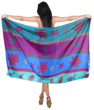 Load image into Gallery viewer, la-leela-sarong-bathing-suit-pareo-wrap-bikini-cover-ups-womens-skirt-swimsuit-swimwear