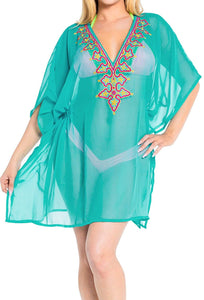 la-leela-bikini-swim-beach-wear-swimsuit-cover-up-womens-kimono-dress-embroidery