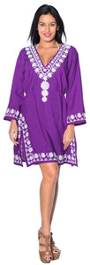 la-leela-coverup-beach-bikini-wear-swimsuit-kimono-dress-women-embroidered