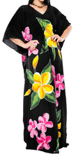 Load image into Gallery viewer, Women's Beachwear Sleeveless Rayon Cover up Dress Casual Caftans Multi Black