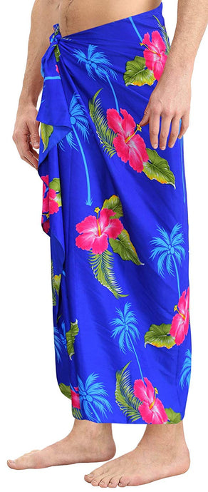 LA LEELA Bathing Suit Swimwear Cover ups Beachwear Wrap Mens Sarong Swimsuit Pareo Swim