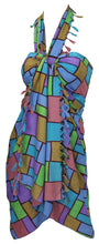 Load image into Gallery viewer, la-leela-womens-beachwear-bathing-sarong-bikini-cover-up-wrap-dress-2-one-size