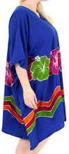Load image into Gallery viewer, Women's Beachwear Evening Plus Kimono Blouse Loose Casual Cover ups Casuals Blue