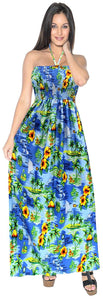 la-leela-soft-printed-vacation-tube-dress-womens-bright-blue-283-one-size