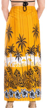 Load image into Gallery viewer, la-leela-women-beachwear-sarong-bikini-cover-up-wrap-bathing-suit-16-plus-size