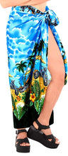 Load image into Gallery viewer, la-leela-women-beachwear-bikini-wrap-cover-up-swimsuit-dress-sarong-18-one-size