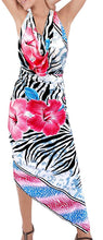 Load image into Gallery viewer, la-leela-soft-light-resort-suit-girls-pareo-sarong-printed-78x39-pink_6694