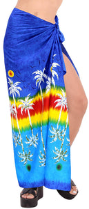 LA LEELA Women Beachwear Bikini Wrap Cover up Swimwear Bathing Suit 1 ONE Size