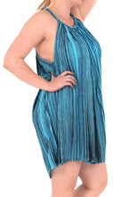 Load image into Gallery viewer, Rayon Tie Dye Women's Beachwear Cover up Bikini Swimwear Caftan Dress Turquoise