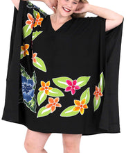 Load image into Gallery viewer, Women Dress Designer Sundress Beachwear Plus Size Evening Casual Cover ups Black