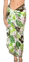 Load image into Gallery viewer, la-leela-womens-beachwear-bathing-sarong-bikini-cover-up-wrap-dress-19-one-size
