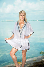 Load image into Gallery viewer, women-embroidered-beach-swimwear-swimsuit-cover-up-white-dress-us-14-32w