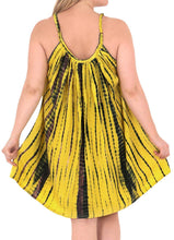 Load image into Gallery viewer, Women's Beachwear Evening Plus Size Blouse tunic Casual Cover ups Casuals yellow