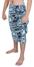 Load image into Gallery viewer, la-leela-100-cotton-mens-wear-sarong-pareo-wrap-cover-ups-bathing-suit-beachwear-swim