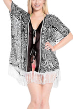 Load image into Gallery viewer, women-loose-beach-kimono-cardigan-capes-flowy-dress-chiffon-print