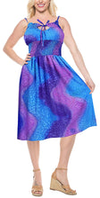 Load image into Gallery viewer, LA LEELA Women's One Size Beach Dress Tube Dress One Size