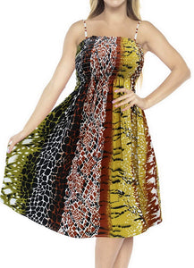 LA LEELA Women's One Size Beach Dress Tube Dress One Size