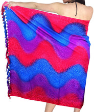 Load image into Gallery viewer, LA LEELA Women Beachwear Sarong Bikini Cover up Wrap Bathing Suit 15 ONE Size