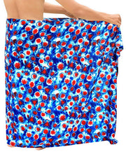 Load image into Gallery viewer, LA LEELA Beach Wear Mens Sarong Pareo Cover ups Wrap Bathing Suit Beach Towel Swim Dress