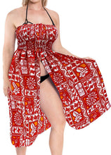 Load image into Gallery viewer, la-leela-womens-one-size-beach-dress-tube-dress-one-size-1