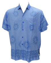 Load image into Gallery viewer, la-leela-shirt-casual-button-down-short-sleeve-beach-shirt-men-pocket-brasso-171