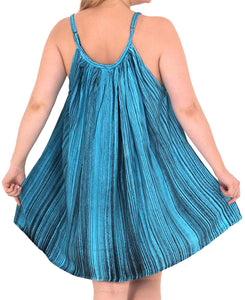 La Leela Beachwear Evening Plus Size Loose Blouse tunic Tops Casual Cover ups