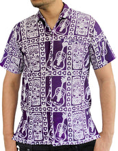 Load image into Gallery viewer, la-leela-mens-aloha-hawaiian-shirt-short-sleeve-button-down-casual-beach-party-1