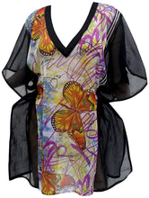 Load image into Gallery viewer, la-leela-chiffon-printed-swimwear-women-cover-up-osfm-14-26-l-4x-purple_5976