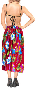 Beach wear Swimwear Womens Maxi Skirt Swimsuit Cover up Tube Top Halter Neck