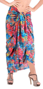 la-leela-women-bikini-cover-up-wrap-dress-swimwear-sarong-digital-plus-size-1