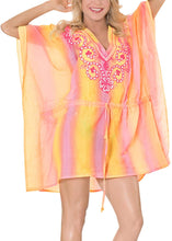 Load image into Gallery viewer, la-leela-bikini-swimwear-swimsuit-beach-cover-ups-women-summer-dress-gradient