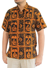 Load image into Gallery viewer, la-leela-mens-aloha-hawaiian-shirt-short-sleeve-button-down-casual-beach-party-8