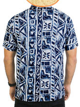 Load image into Gallery viewer, la-leela-shirt-casual-button-down-short-sleeve-beach-shirt-men-aloha-pocket-44