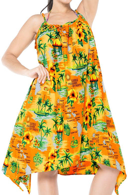 LA LEELA Coverup Beach Bikini wear Swimsuit Kimono Summer Dresses Women Printed