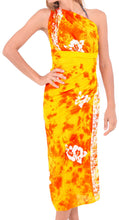 Load image into Gallery viewer, la-leela-rayon-aloha-bali-cover-up-pareo-sarong-printed-78x43-yellow_4659