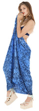 Load image into Gallery viewer, la-leela-swimsuit-cover-up-slit-sarong-printed-78x43-royal-blue_4403