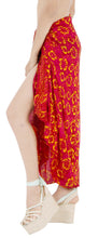 Load image into Gallery viewer, la-leela-beach-bikini-cover-up-sarong-bikini-cover-up-printed-78x43-dark-pink_4412