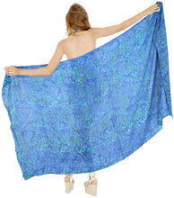 Load image into Gallery viewer, la-leela-cover-up-suit-womens-sarong-bikini-cover-up-printed-78x43-royal-blue_4414