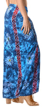 Load image into Gallery viewer, la-leela-rayon-towel-wrap-pareo-sarong-printed-78x43-royal-blue_4433